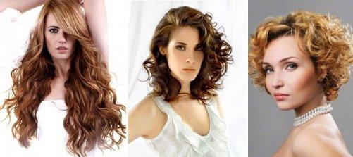 стрижки на вьющихся волосах