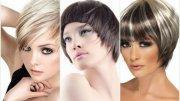 Модные Прически на Короткие Волосы 2015